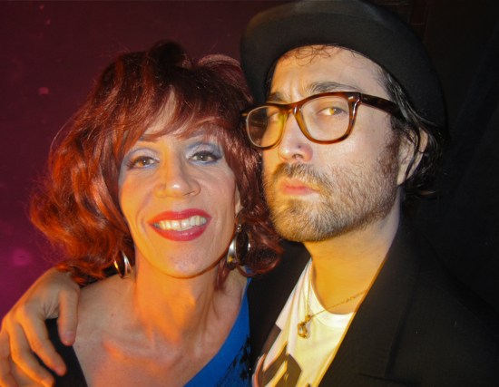 Sean Lennon drag queen Linda Simpson