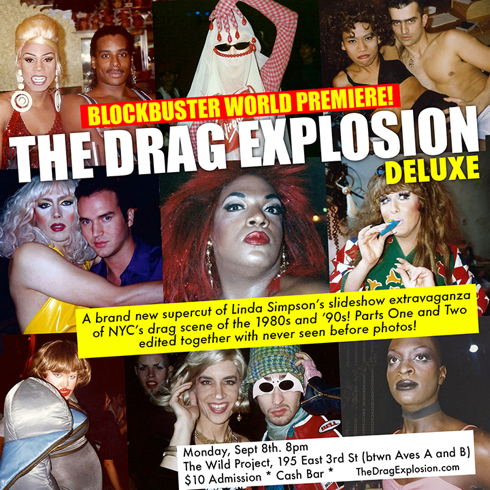 The Drag Explosion Linda Simpson invite Wild Project