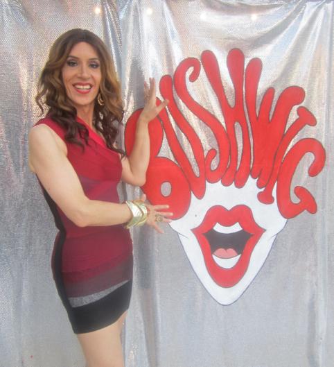 Linda Simpson drag queen Bushwig