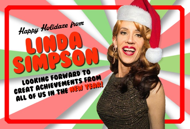 Linda Christmas Card