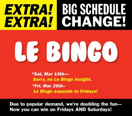 Le Bingo
