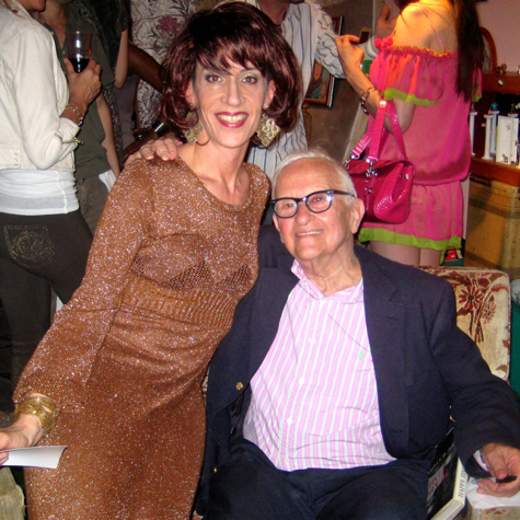With Albert Maysles.