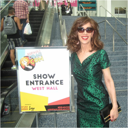 Linda Simpson at RuPaul's Drag Con