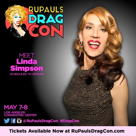 Linda Simpson at RuPaul's Drag Con