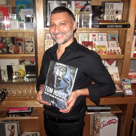 It's My House! Michael Reynolds with his fab new book. He's the editor!